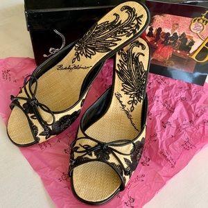 Beverly Feldman Heel Slides in Box Sz 6 NIB